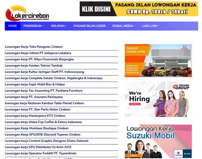 Lokercirebon website Lowongan Kerja Pertama Sewilayah 3 Cirebon