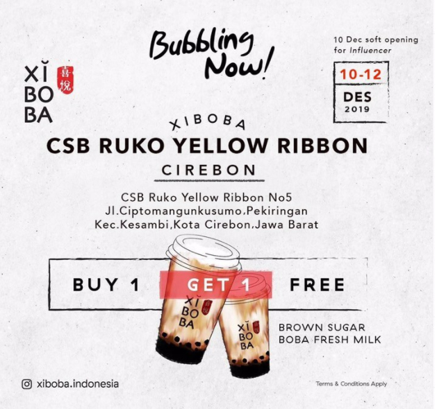 Xiboba Minuman Boba Kekinaian Yang Bikin Ketagihan